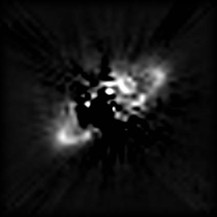 NICMOS/HST image of the disk around HR 4796A