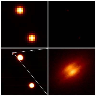 Gemini image of resolved disk around LkHa 263C