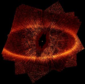 ACS/HST image of the fomalhaut disk